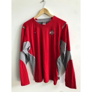 Nike Ohio Stare Vintage Dri fit long sleeved tee